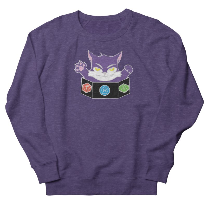 TRI Cat Women's French Terry Sweatshirt by The Role Initiative's Artist Shop