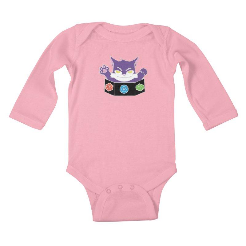 TRI Cat Kids Baby Longsleeve Bodysuit by The Role Initiative's Artist Shop