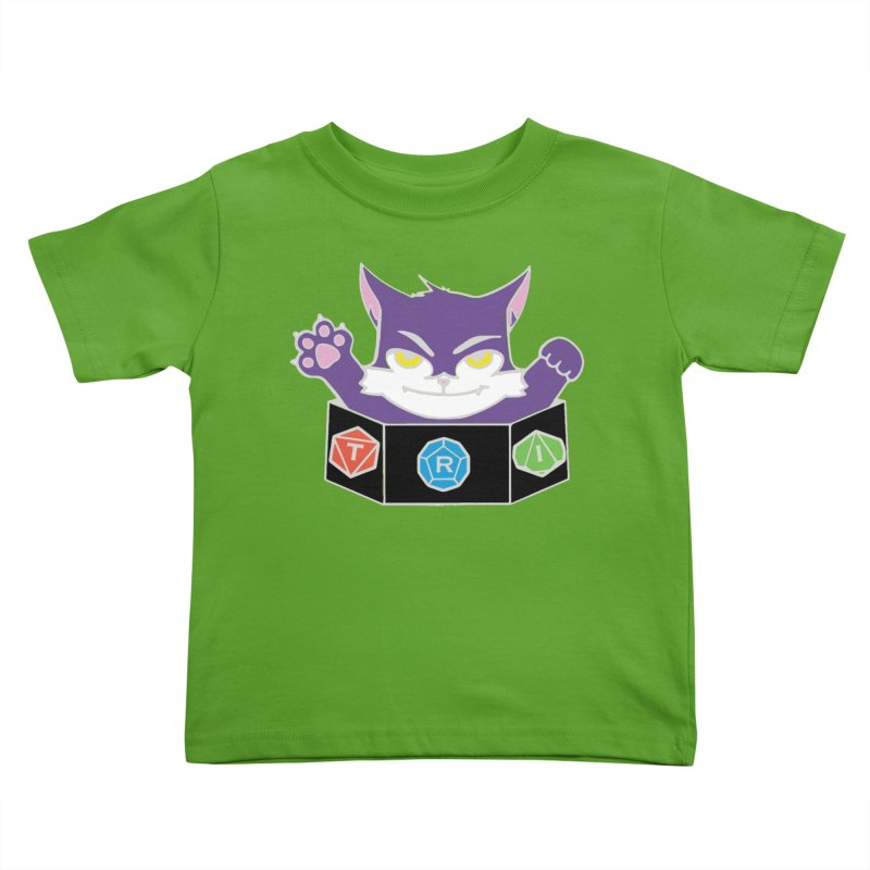 TRI Cat Kids Toddler T-Shirt by The Role Initiative's Artist Shop