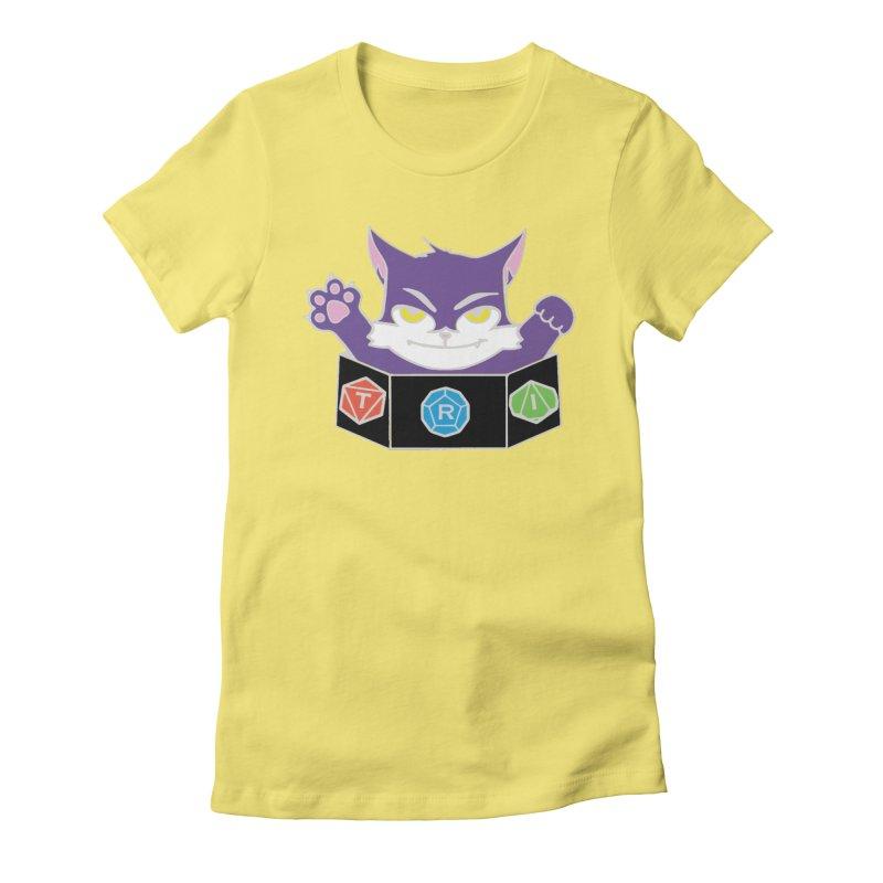 TRI Cat Women's T-Shirt by The Role Initiative's Artist Shop
