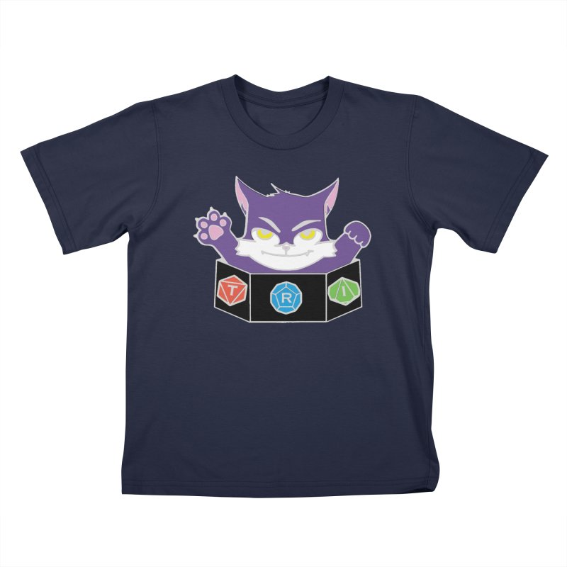TRI Cat Kids T-Shirt by The Role Initiative's Artist Shop