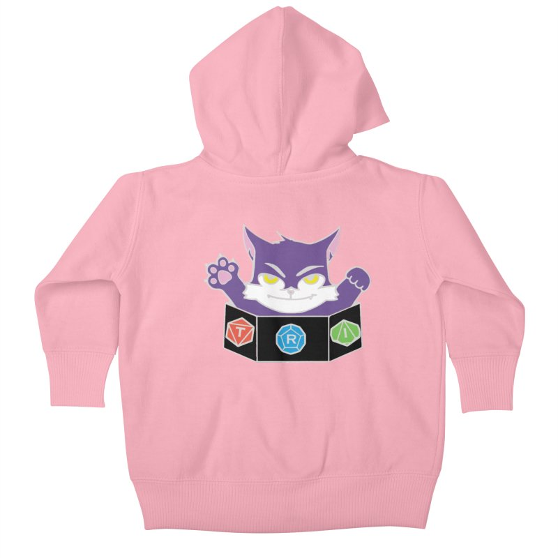 TRI Cat Kids Baby Zip-Up Hoody by The Role Initiative's Artist Shop