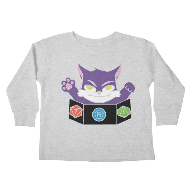 TRI Cat Kids Toddler Longsleeve T-Shirt by The Role Initiative's Artist Shop