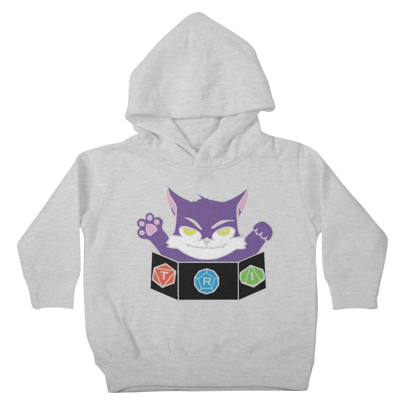 TRI Cat Kids Toddler Pullover Hoody by The Role Initiative's Artist Shop