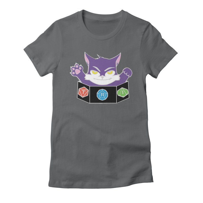 TRI Cat Women's Fitted T-Shirt by The Role Initiative's Artist Shop