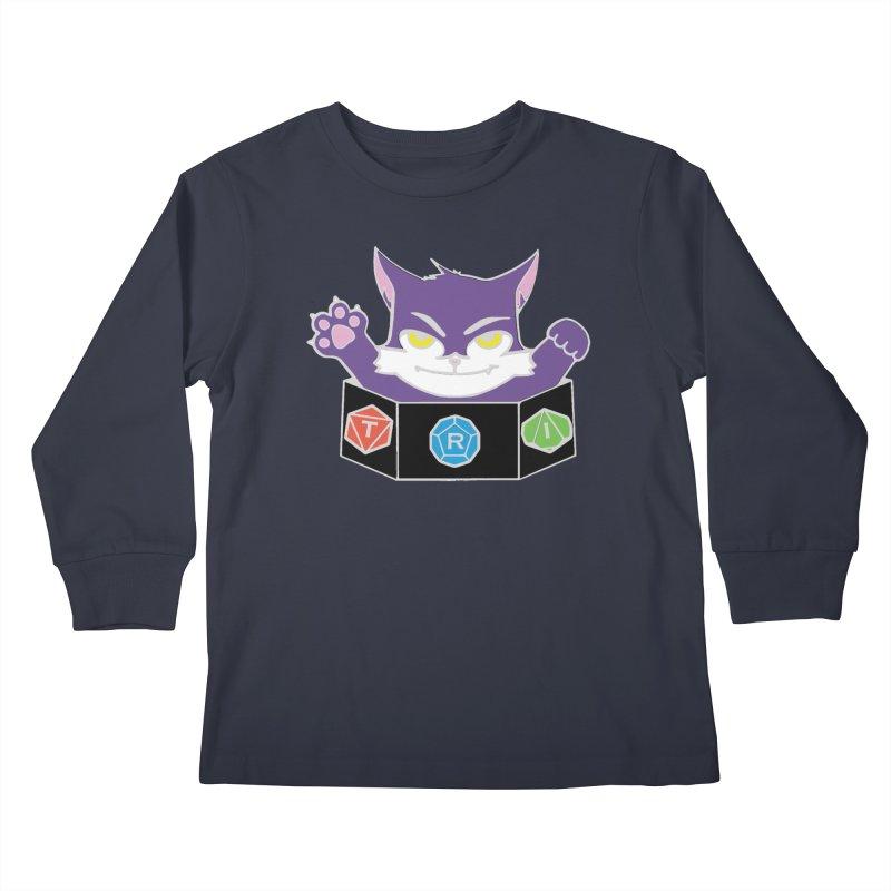 TRI Cat Kids Longsleeve T-Shirt by The Role Initiative's Artist Shop