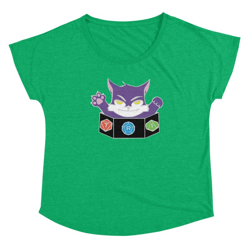 TRI Cat Women's Scoop Neck by The Role Initiative's Artist Shop