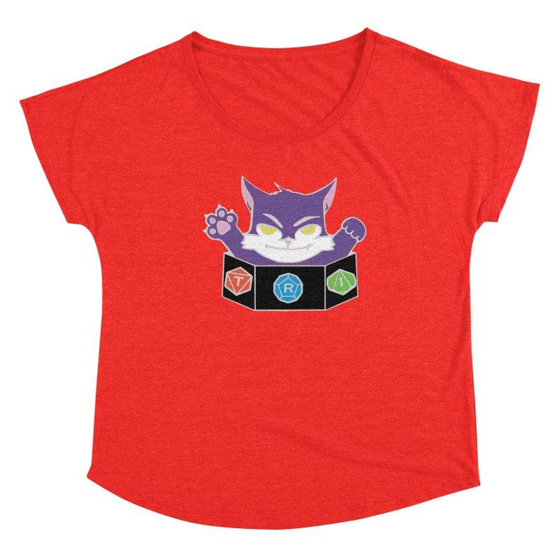 TRI Cat Women's Scoop Neck by The Role Initiative's Artist Shop