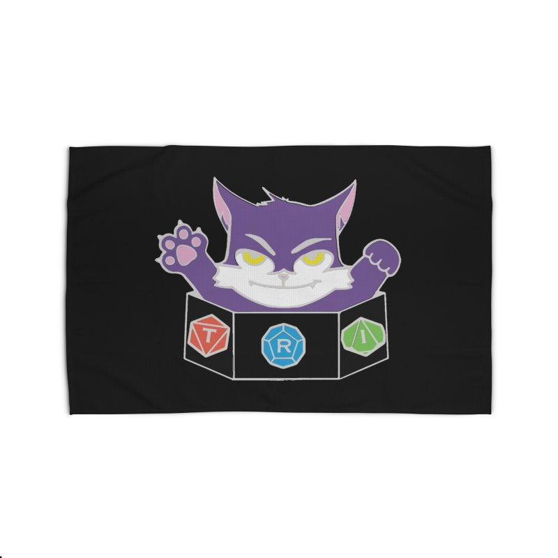 TRI Cat Home Rug by The Role Initiative's Artist Shop