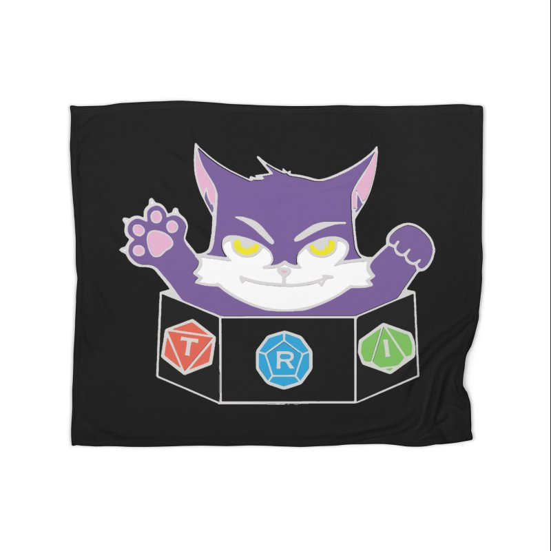 TRI Cat Home Blanket by The Role Initiative's Artist Shop