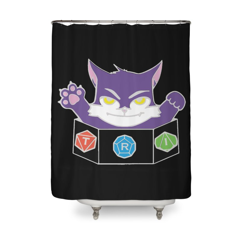 TRI Cat Home Shower Curtain by The Role Initiative's Artist Shop
