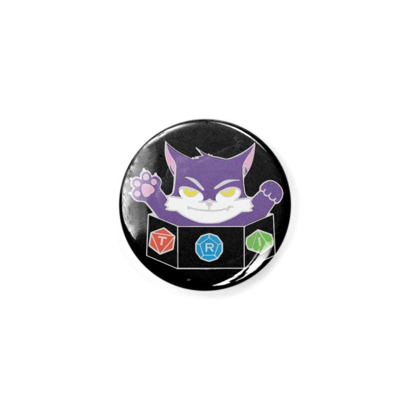 TRI Cat Accessories Button by The Role Initiative's Artist Shop