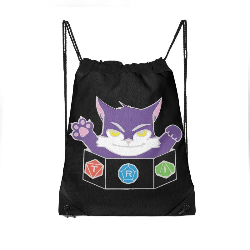 TRI Cat Accessories Bag by The Role Initiative's Artist Shop