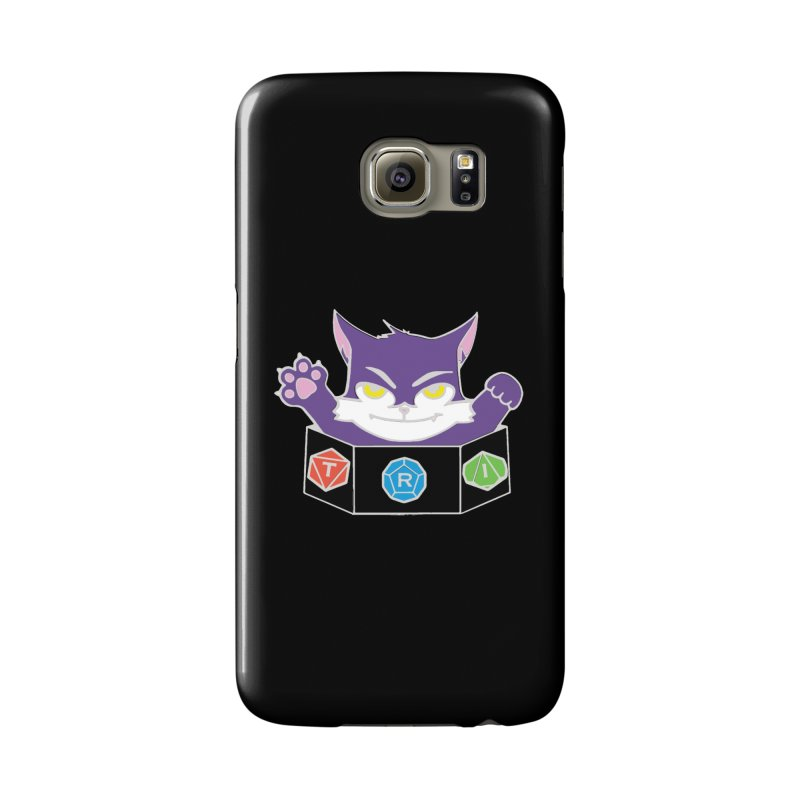 TRI Cat Accessories Phone Case by The Role Initiative's Artist Shop