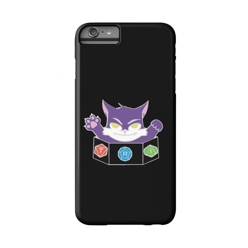 TRI Cat Accessories Phone Case by The Role Initiative's Artist Shop