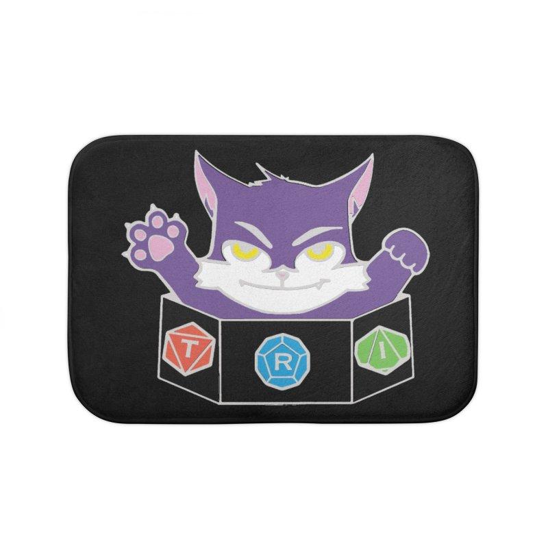 TRI Cat Home Bath Mat by The Role Initiative's Artist Shop