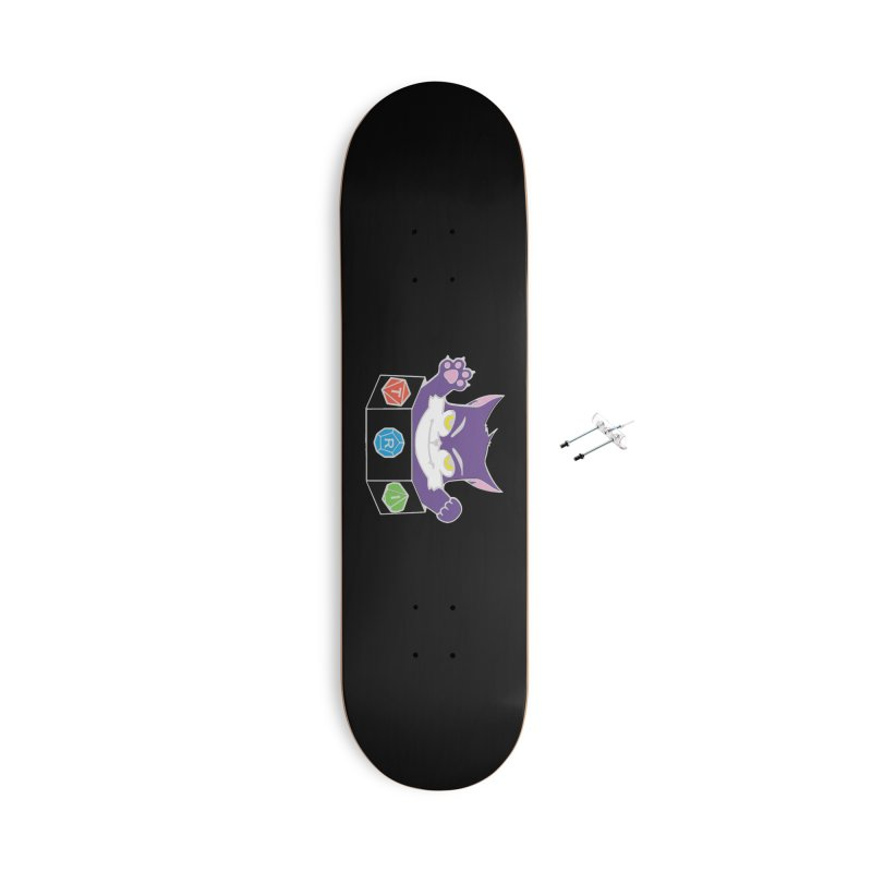TRI Cat Accessories With Hanging Hardware Skateboard by The Role Initiative's Artist Shop