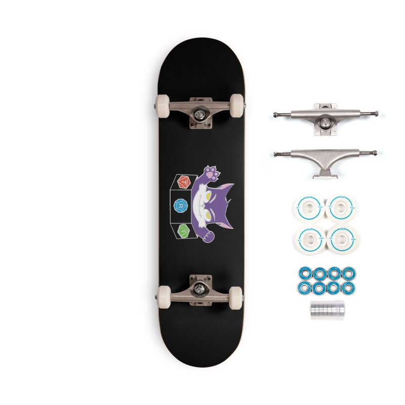 TRI Cat Accessories Skateboard by The Role Initiative's Artist Shop