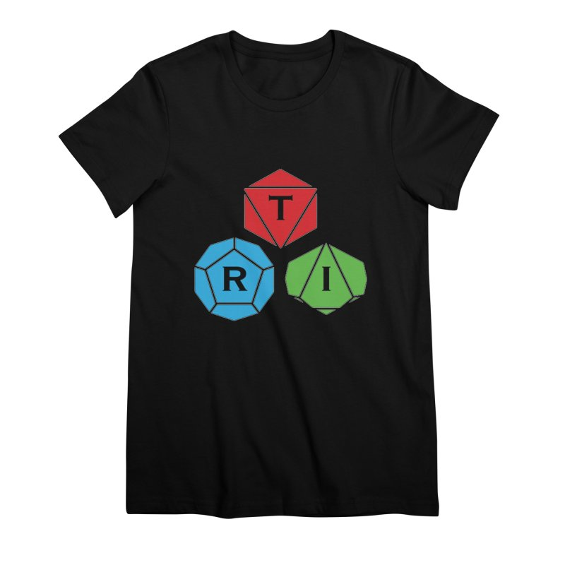 TRI Logo (Color) Women's Premium T-Shirt by The Role Initiative's Artist Shop