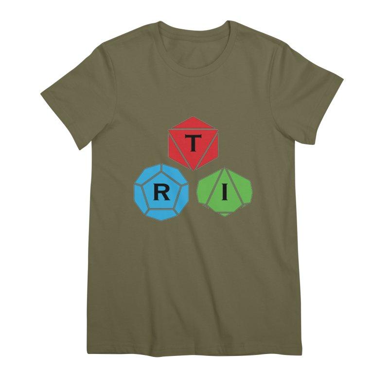 TRI Logo (Color) Women's Premium T-Shirt by The Role Initiative's Artist Shop