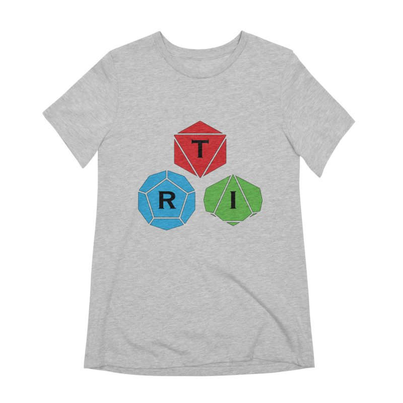 TRI Logo (Color) Women's Extra Soft T-Shirt by The Role Initiative's Artist Shop