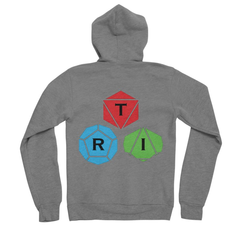 TRI Logo (Color) Men's Zip-Up Hoody by The Role Initiative's Artist Shop