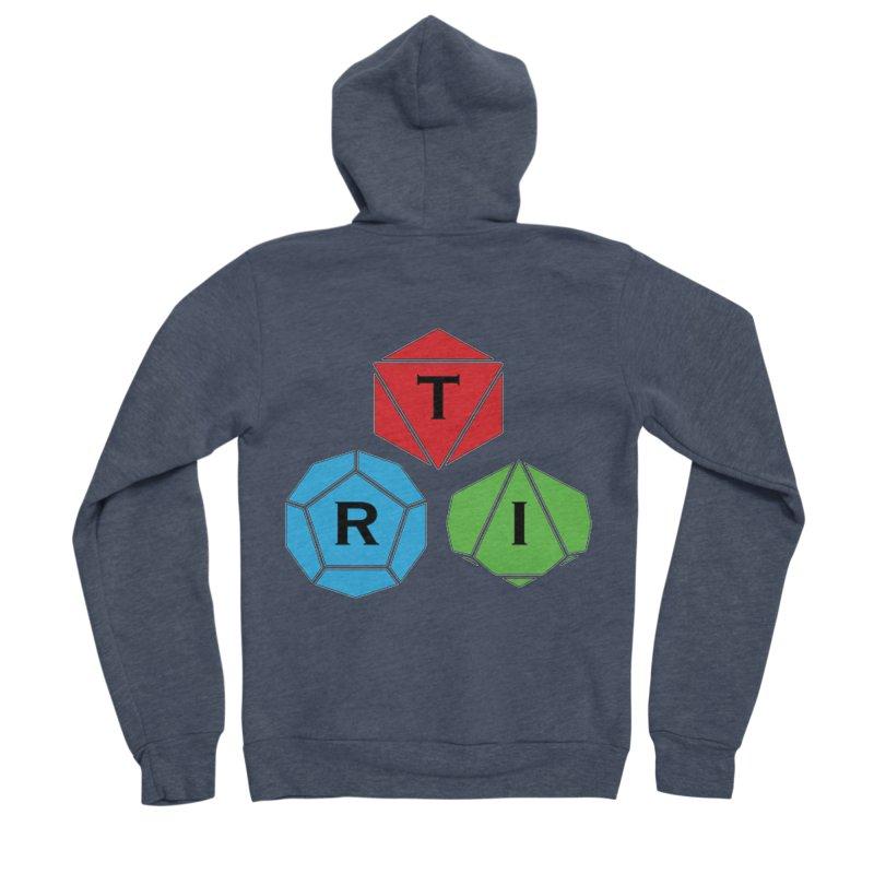 TRI Logo (Color) Men's Sponge Fleece Zip-Up Hoody by The Role Initiative's Artist Shop