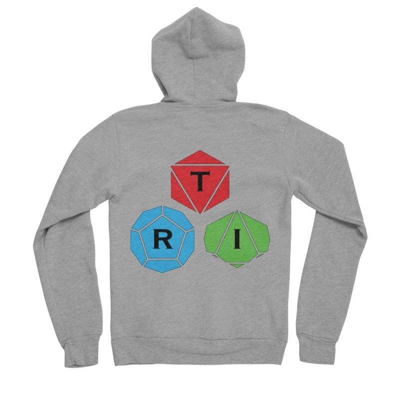 TRI Logo (Color) Women's Sponge Fleece Zip-Up Hoody by The Role Initiative's Artist Shop