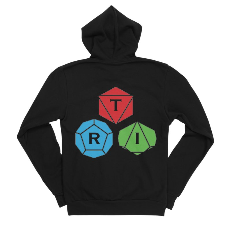 TRI Logo (Color) Men's Sponge Fleece Zip-Up Hoody by The Role Initiative's Artist Shop