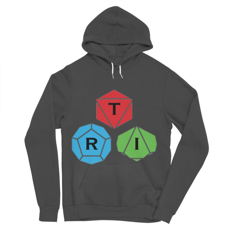 TRI Logo (Color) Women's Sponge Fleece Pullover Hoody by The Role Initiative's Artist Shop