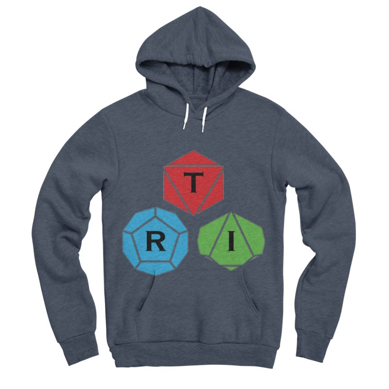 TRI Logo (Color) Men's Sponge Fleece Pullover Hoody by The Role Initiative's Artist Shop