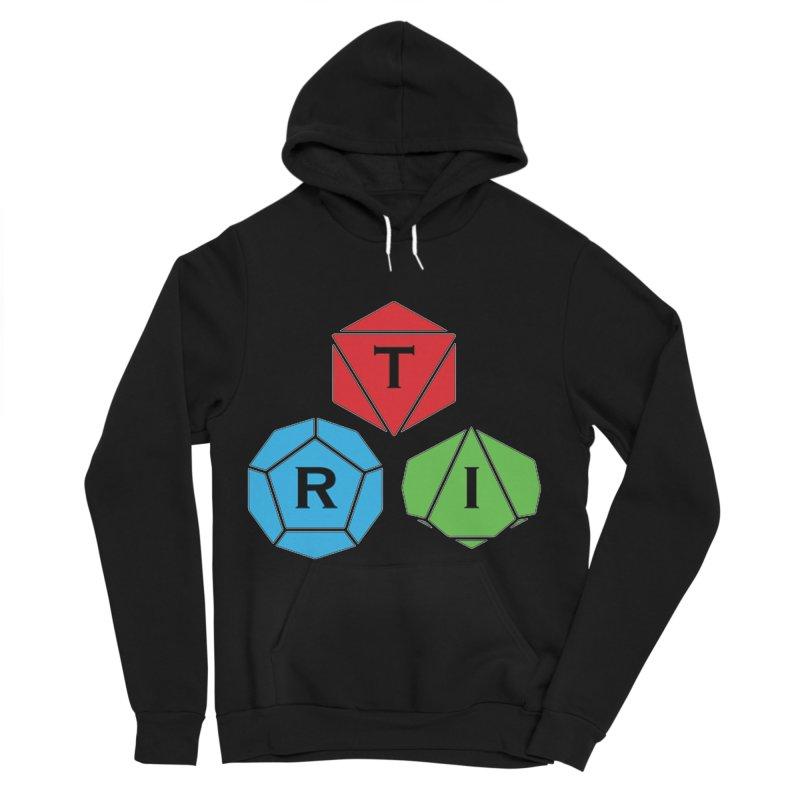 TRI Logo (Color) Men's Sponge Fleece Pullover Hoody by The Role Initiative's Artist Shop