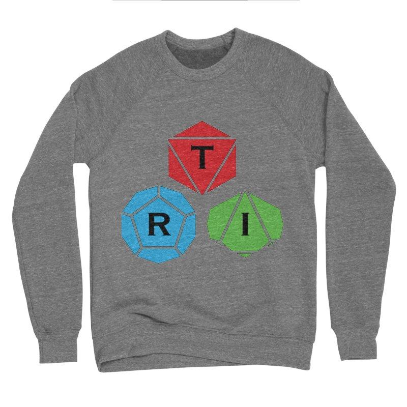 TRI Logo (Color) Men's Sponge Fleece Sweatshirt by The Role Initiative's Artist Shop