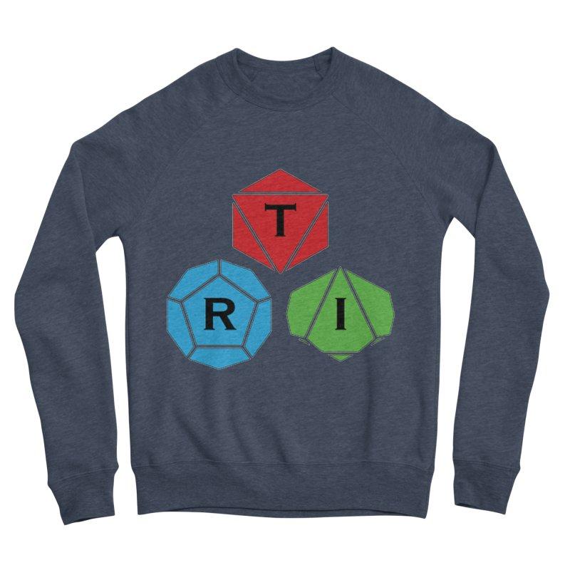 TRI Logo (Color) Women's Sponge Fleece Sweatshirt by The Role Initiative's Artist Shop