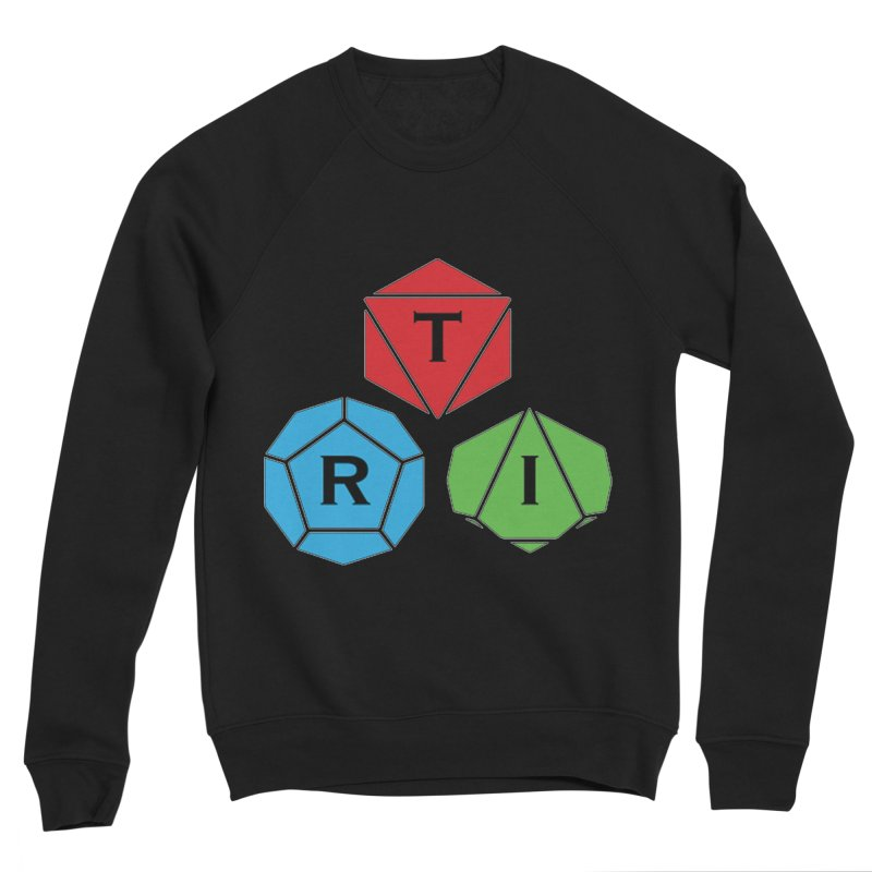 TRI Logo (Color) Women's Sponge Fleece Sweatshirt by The Role Initiative's Artist Shop