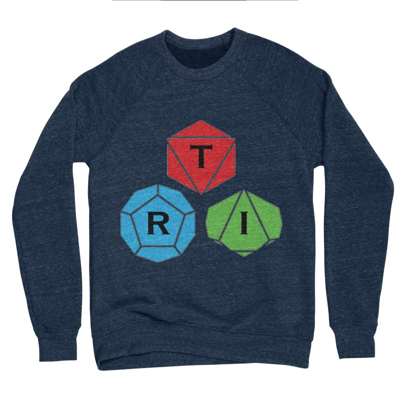 TRI Logo (Color) Men's Sponge Fleece Sweatshirt by The Role Initiative's Artist Shop