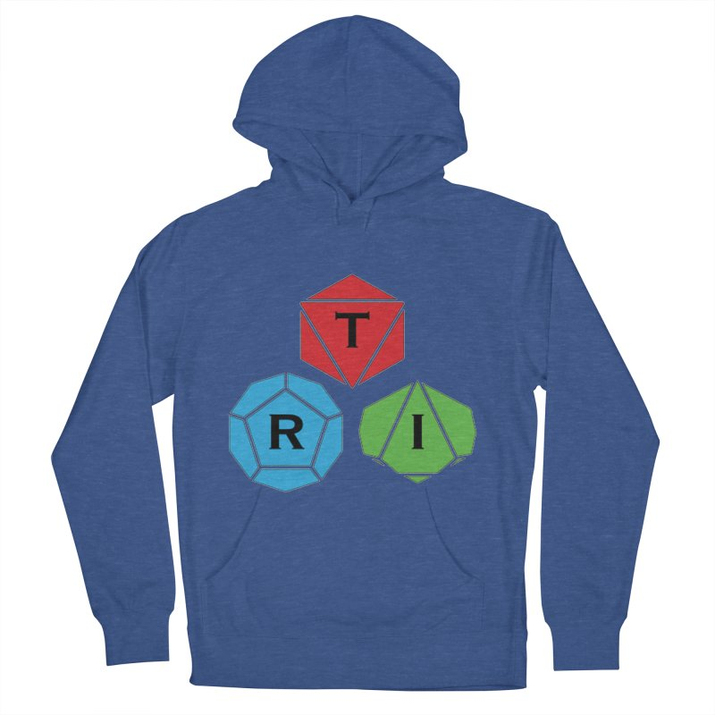 TRI Logo (Color) Women's French Terry Pullover Hoody by The Role Initiative's Artist Shop