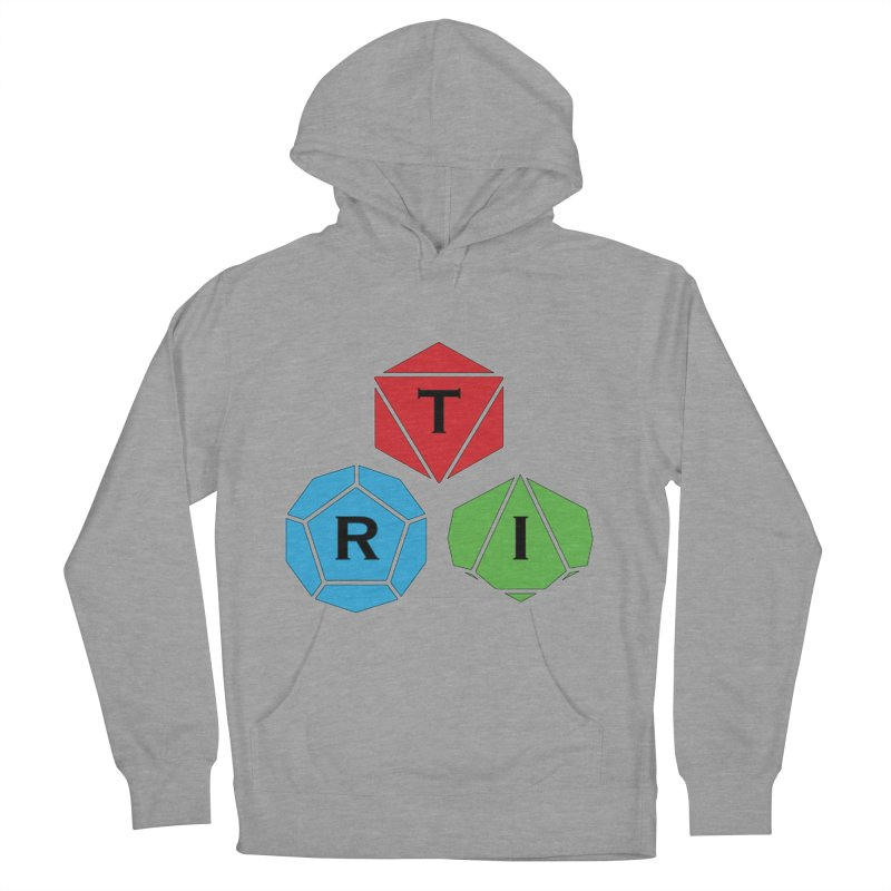 TRI Logo (Color) Men's French Terry Pullover Hoody by The Role Initiative's Artist Shop