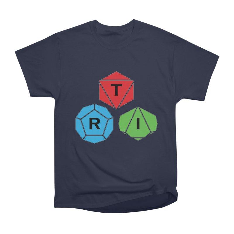 TRI Logo (Color) Men's Heavyweight T-Shirt by The Role Initiative's Artist Shop