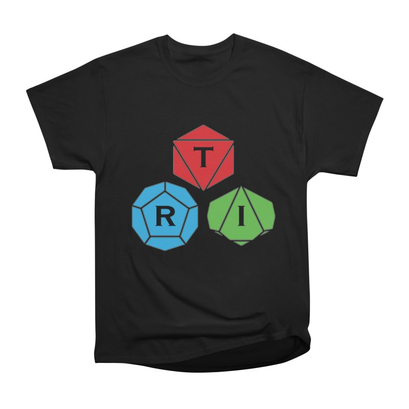 TRI Logo (Color) Women's Heavyweight Unisex T-Shirt by The Role Initiative's Artist Shop