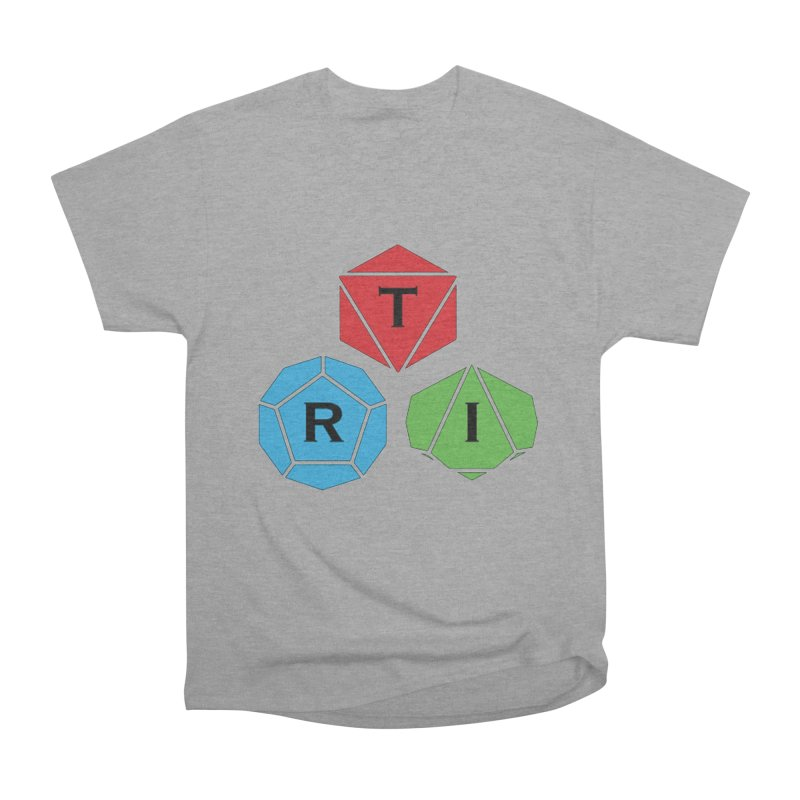 TRI Logo (Color) Men's Heavyweight T-Shirt by The Role Initiative's Artist Shop