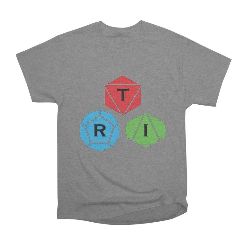 TRI Logo (Color) Women's Heavyweight Unisex T-Shirt by The Role Initiative's Artist Shop