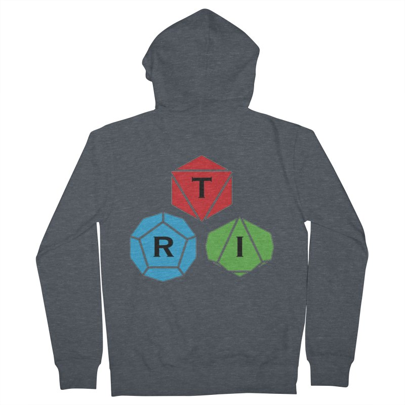 TRI Logo (Color) Women's French Terry Zip-Up Hoody by The Role Initiative's Artist Shop