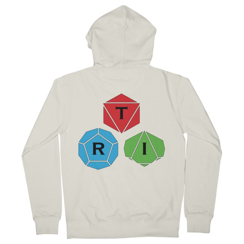 TRI Logo (Color) Men's French Terry Zip-Up Hoody by The Role Initiative's Artist Shop