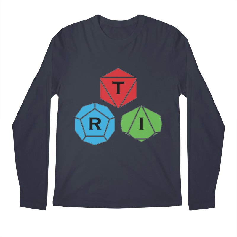 TRI Logo (Color) Men's Regular Longsleeve T-Shirt by The Role Initiative's Artist Shop