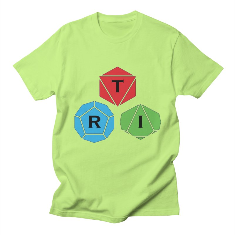 TRI Logo (Color) Men's Regular T-Shirt by The Role Initiative's Artist Shop