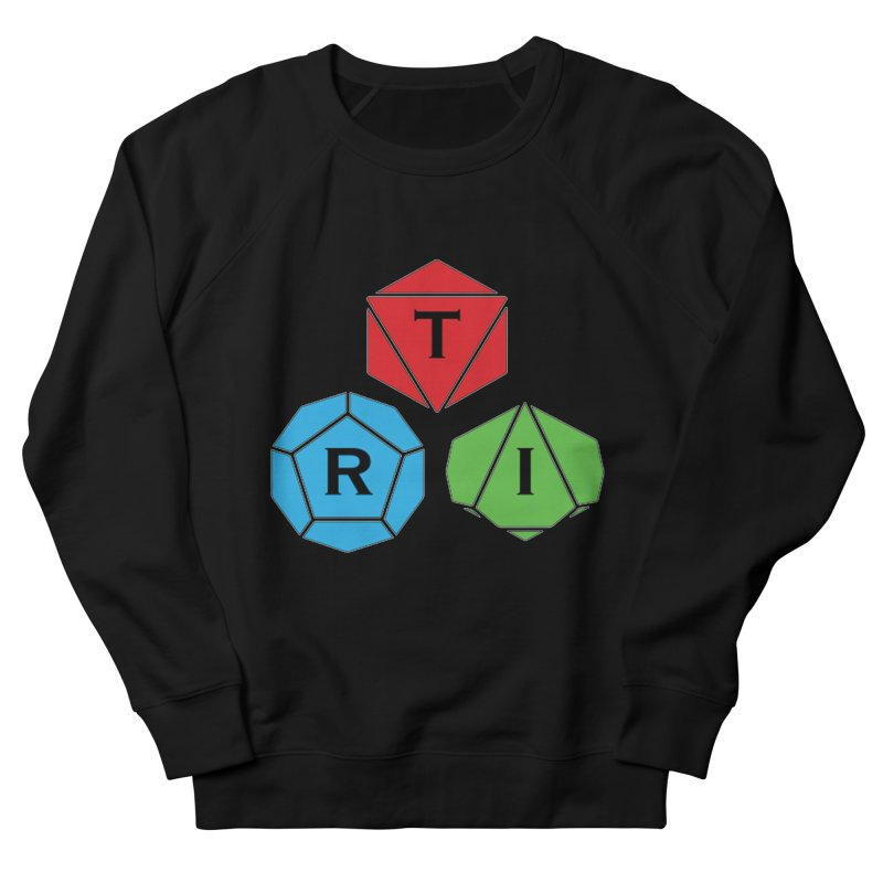 TRI Logo (Color) Women's French Terry Sweatshirt by The Role Initiative's Artist Shop