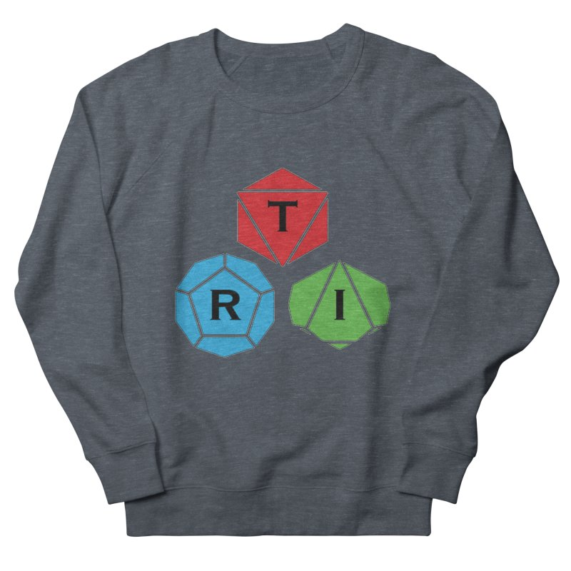 TRI Logo (Color) Men's French Terry Sweatshirt by The Role Initiative's Artist Shop