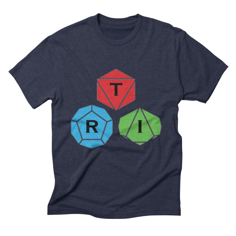 TRI Logo (Color) Men's Triblend T-Shirt by The Role Initiative's Artist Shop
