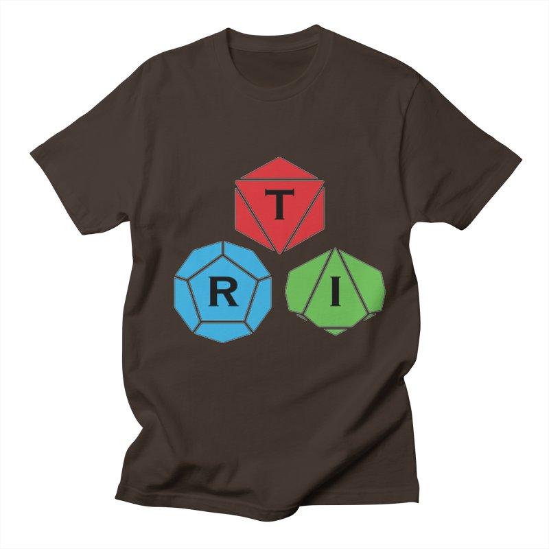 TRI Logo (Color) Men's Regular T-Shirt by The Role Initiative's Artist Shop